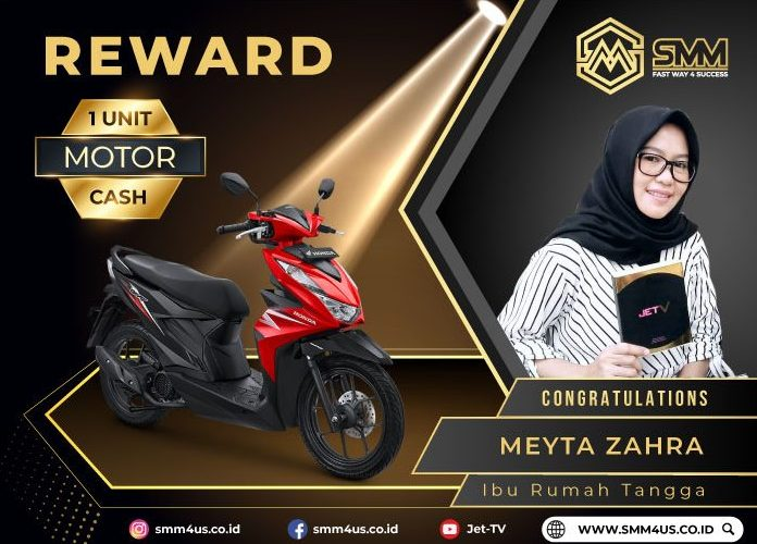 MEYTA ZAHRA – 1 UNIT MOTOR CASH